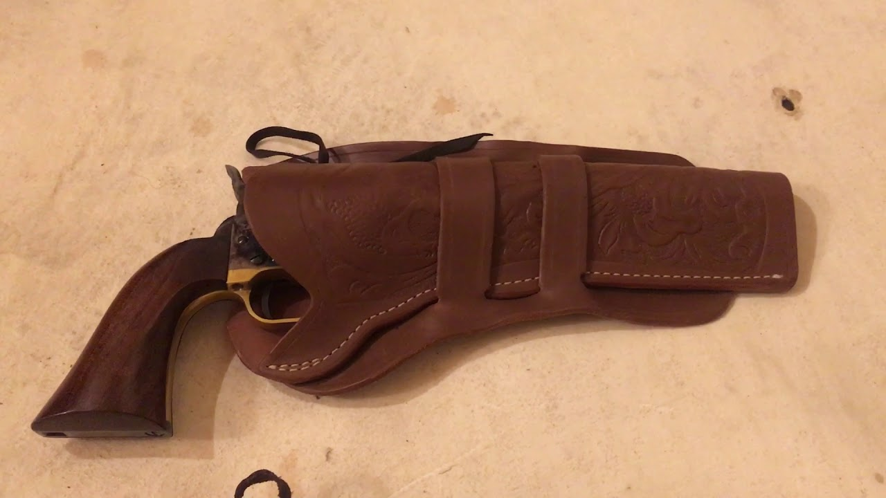 Life hack Easy cheap holster for Colt dragoon