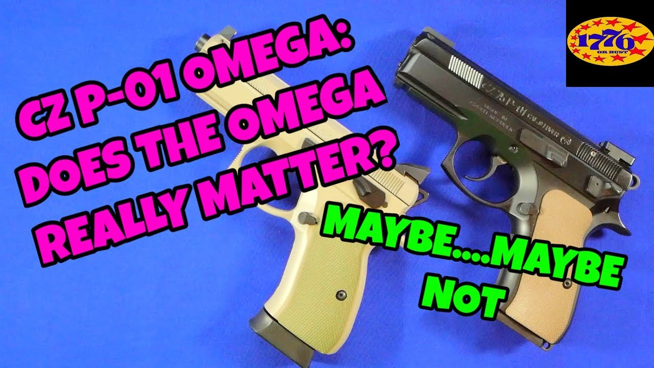 CZ P-01 OMEGA: DOES IT REALLY MATTER ?