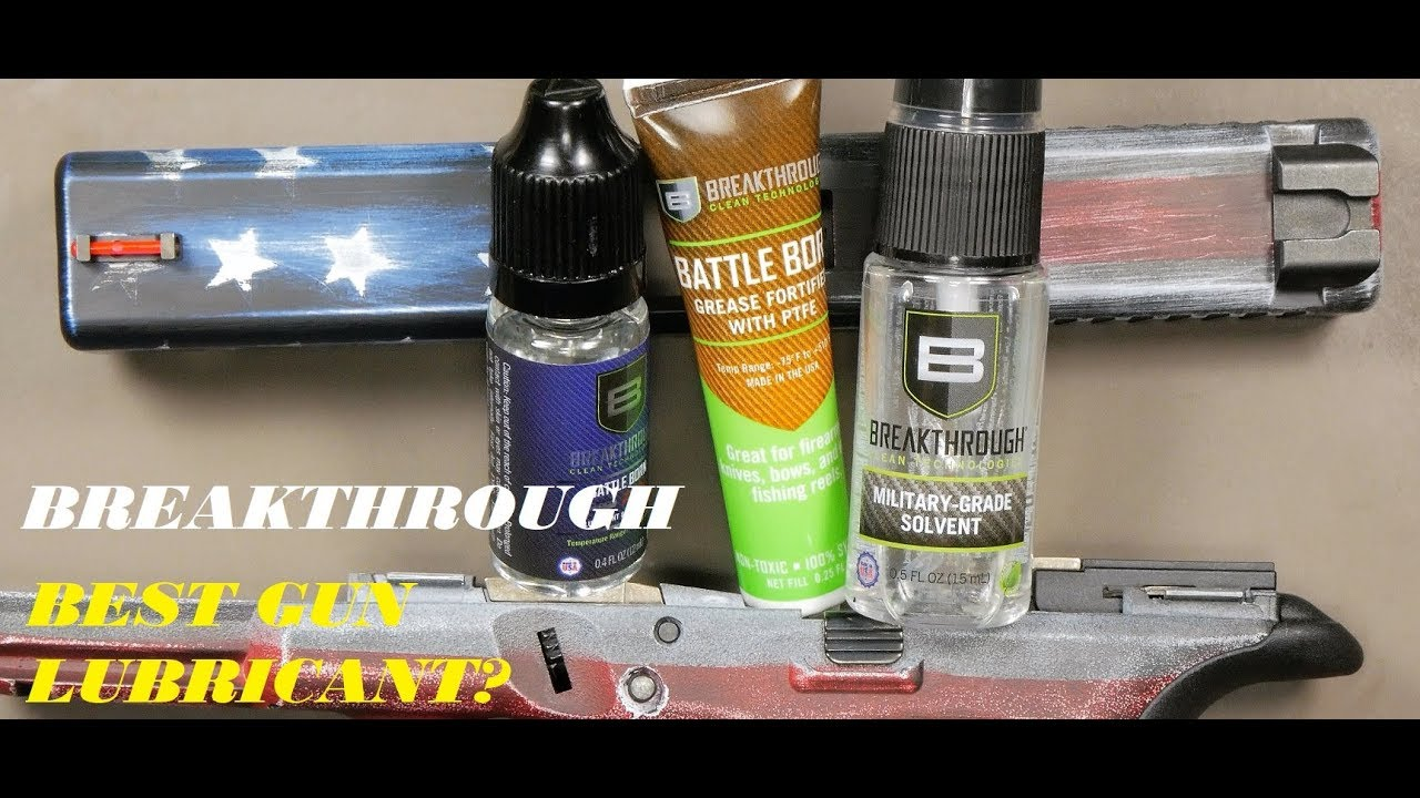 BREAKTHROUGH: IS THIS THE BEST LUBE FOR YOUR CONCEALED CARRY