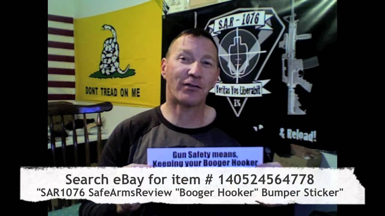 Booger Hooker Bumper Sticker on Sale eBay item # 140524564778
