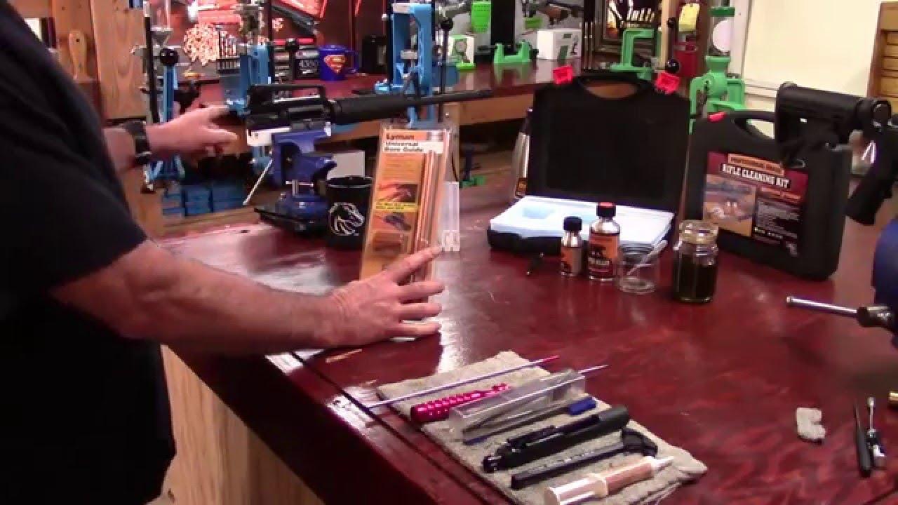 AR-15, 223 Rem. Reloading Series, Video 65, Lyman Universal Bore Guide