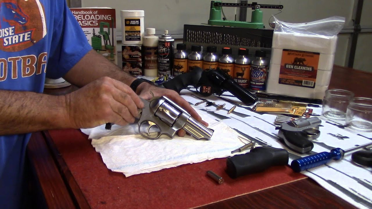 Ruger GP100, Removing the Hammer, No Tools Required