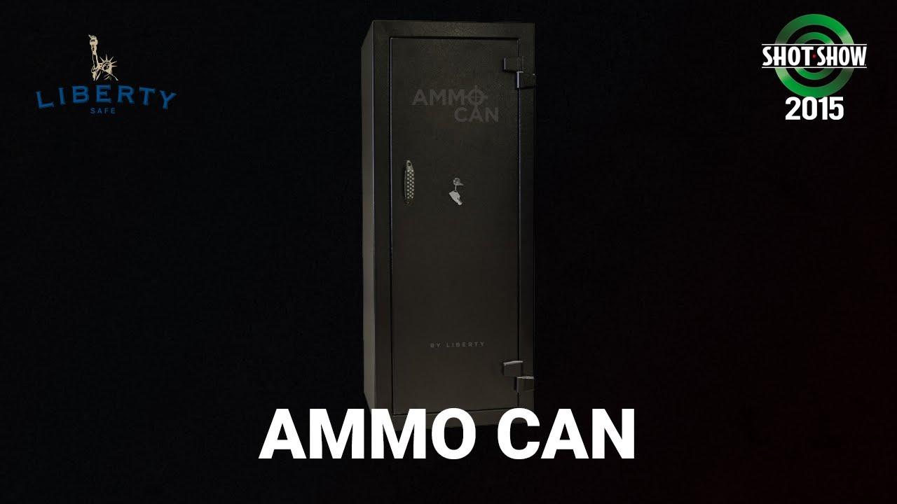 Liberty Safe Ammo Can - SHOT Show 2015