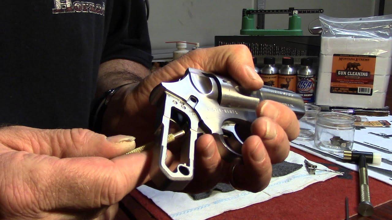 Ruger SP101, Trigger Assembly Removal