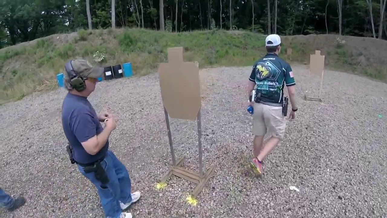 Wayne Country Racoon Hunters Association USPSA Classifier Match - July 2018 - First Person