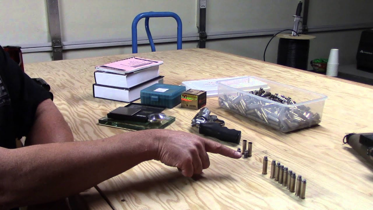 Dissecting the Cartridge, Series 1, Video 3, Identifying Bullet Weight