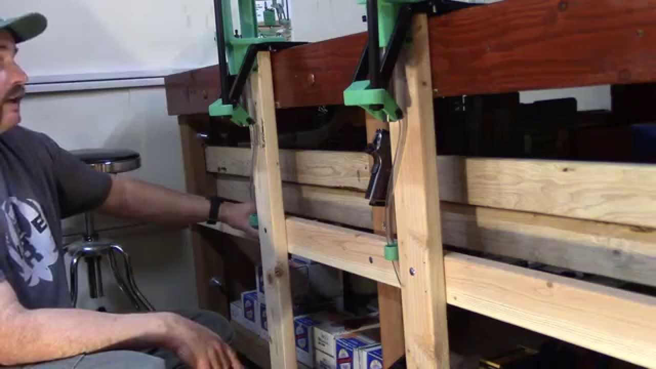 WBR, Video 71, Redding Powder Measure Mount Bracket