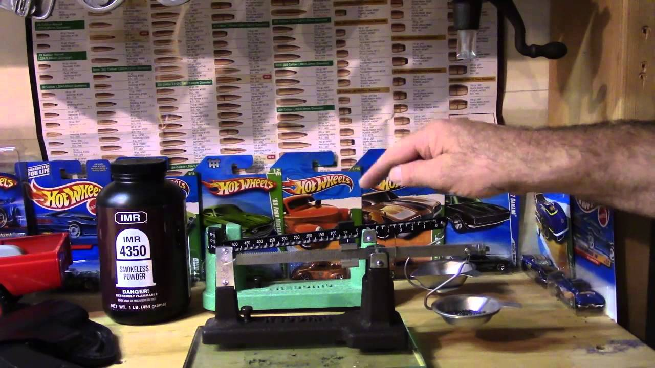 Antique Redding Reloading, Video 3, Measuring, Weighing and Charging the Cartridge Case