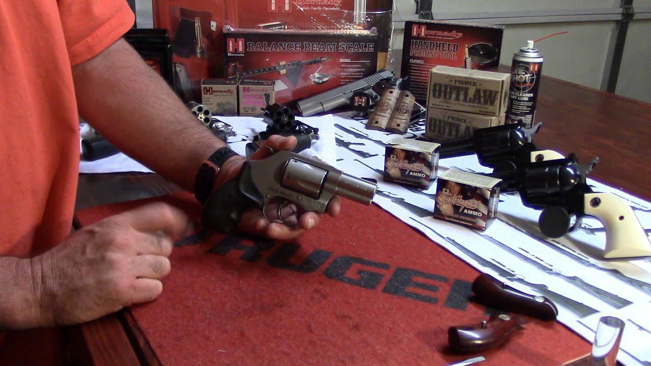 Women's Beginning Reloading, Video 12, S&W Model 60-14, Lady Smith, Grip Upgrade