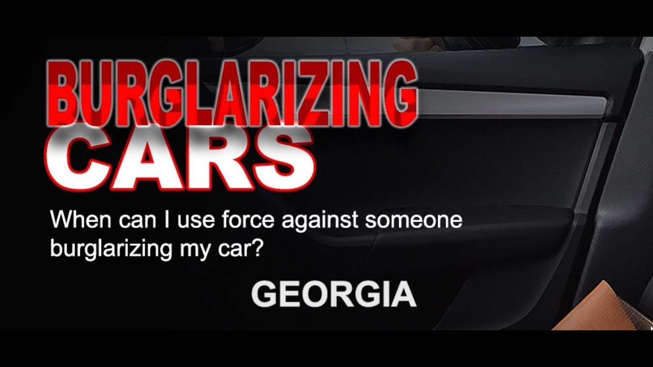 GA Burglarizing Cars