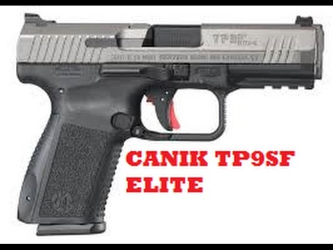 CANIK TP9SF ELITE Compact 9mm: First Impressions