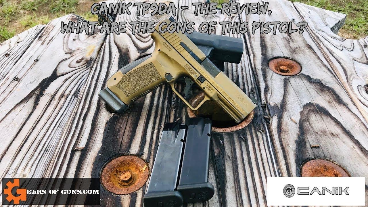 Canik  TP9DA -  Where are the cons?