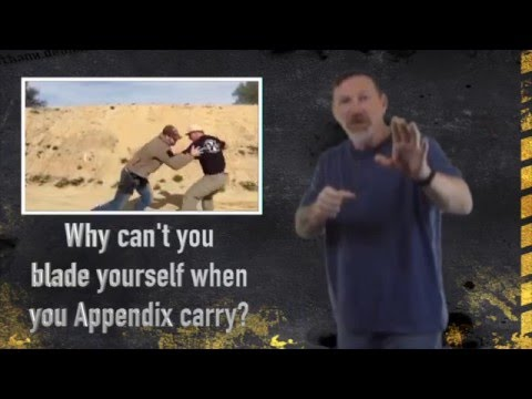 CCW Positions: Appendix carry or 5 o'clock for Combat Effectiveness