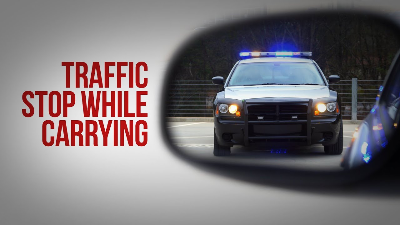Traffic Stop While Carrying- Oklahoma