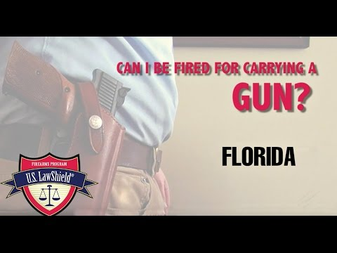 Can My Employer in Florida Keep Me from Carrying a Gun?