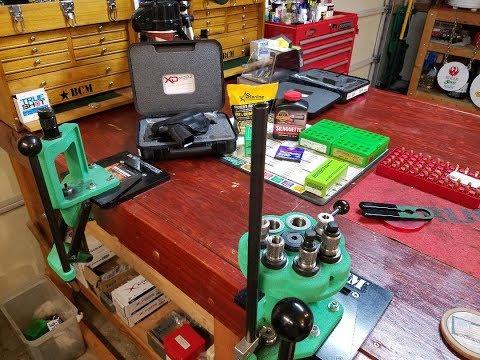 LiveStream Workshop: 9mm Luger, Redding Die Set Up and Cartridge Verification