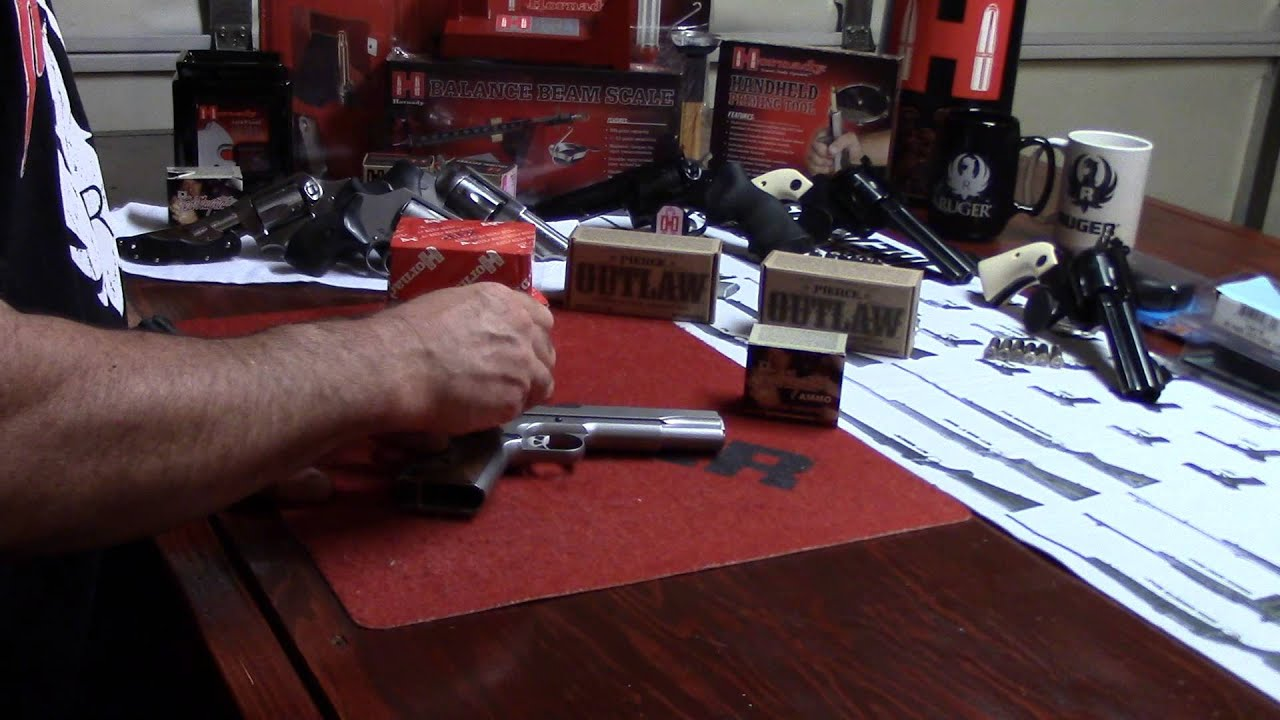 Women's Beginning Reloading, Video 14, Ruger SR 1911 Grip Upgrade