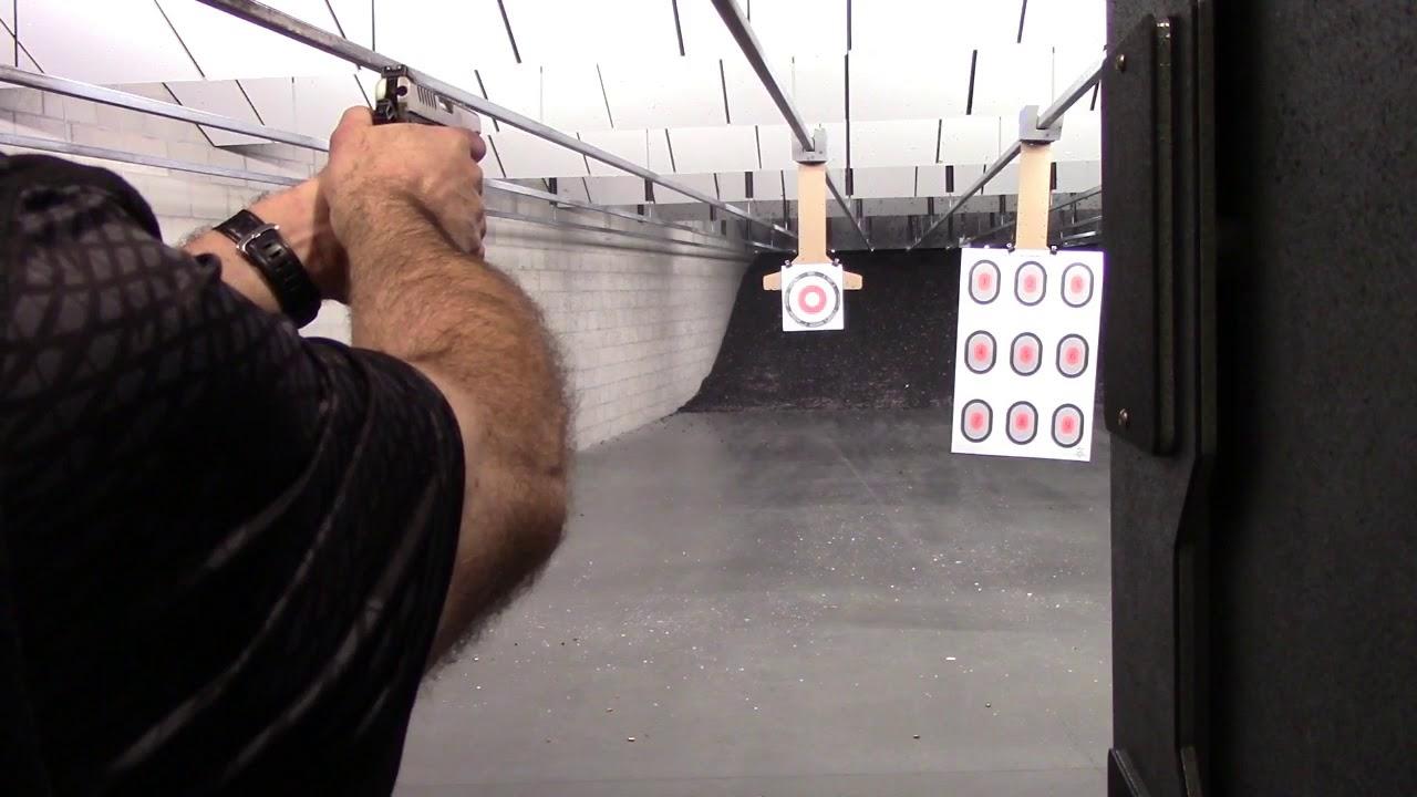Ruger SR1911 Action!!! 9mm... X-Treme Bullets, Independence Indoor Shooting