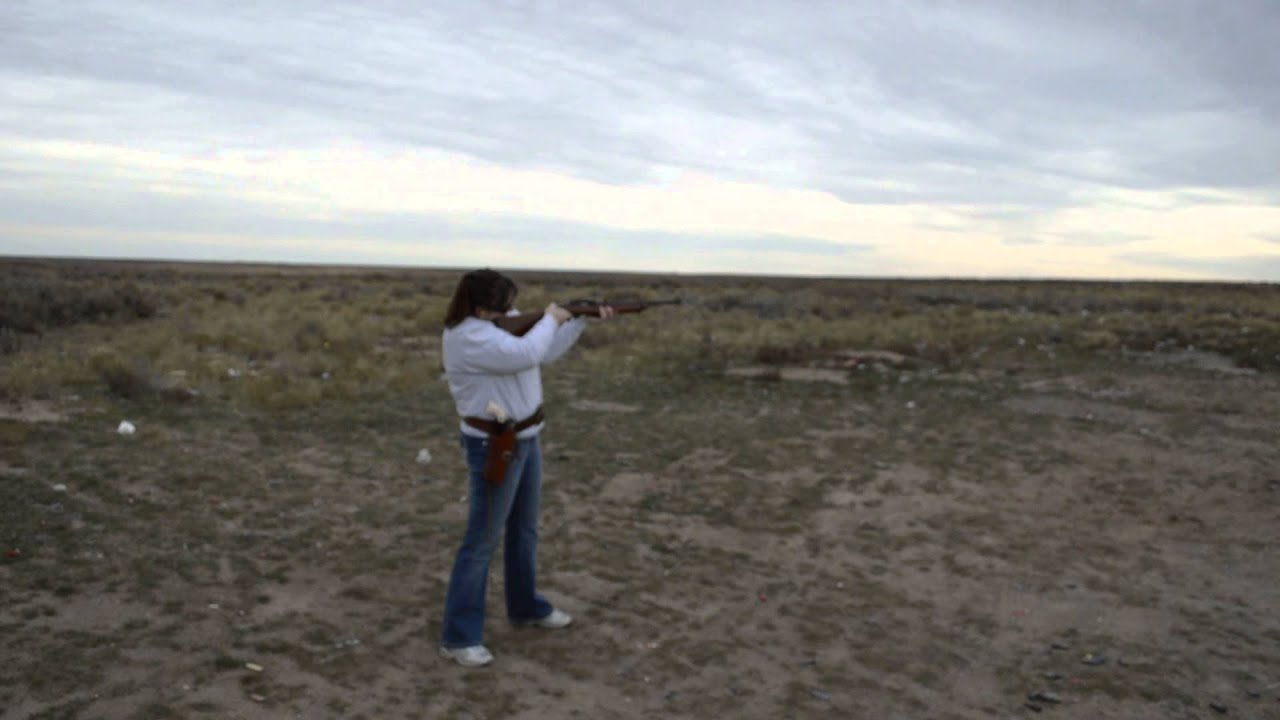 My Awesome Wife Shooting Her Ruger 10/22