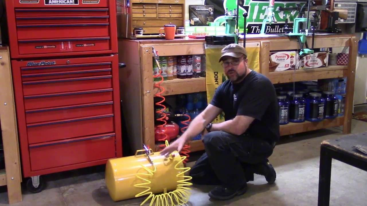 Dillon XL650, 223/5.56, Video 32, You Need Compressed Air to Keep Your Machine Smooth