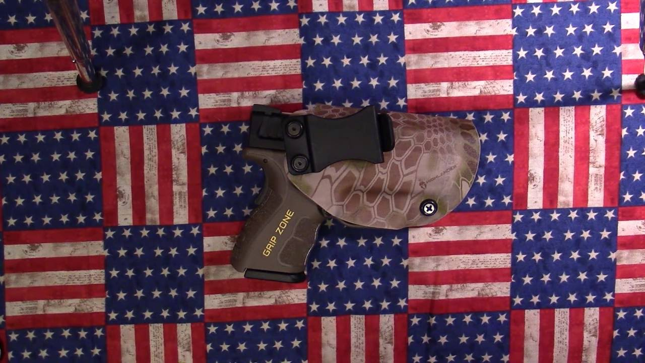 New Kydex IWB Holster