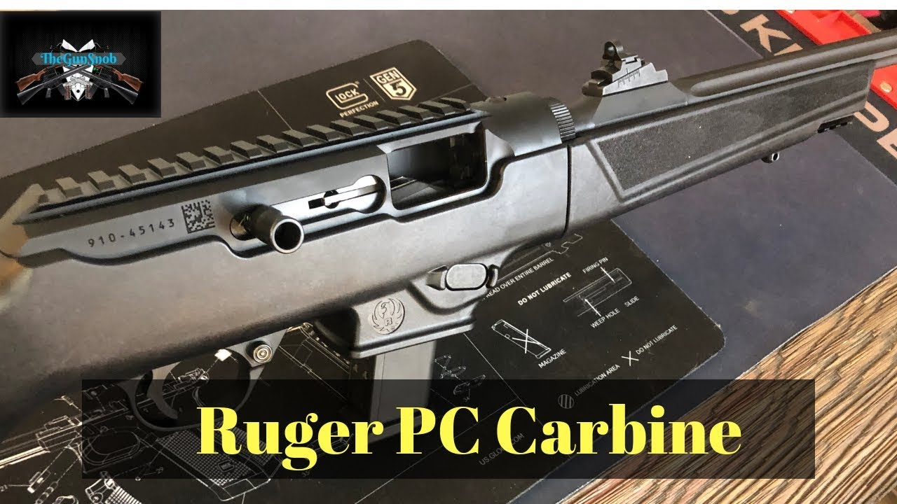 Ruger PC Carbine Range Review