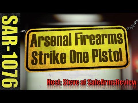 Arsenal Firearms Strike One Pistol - Range Review!