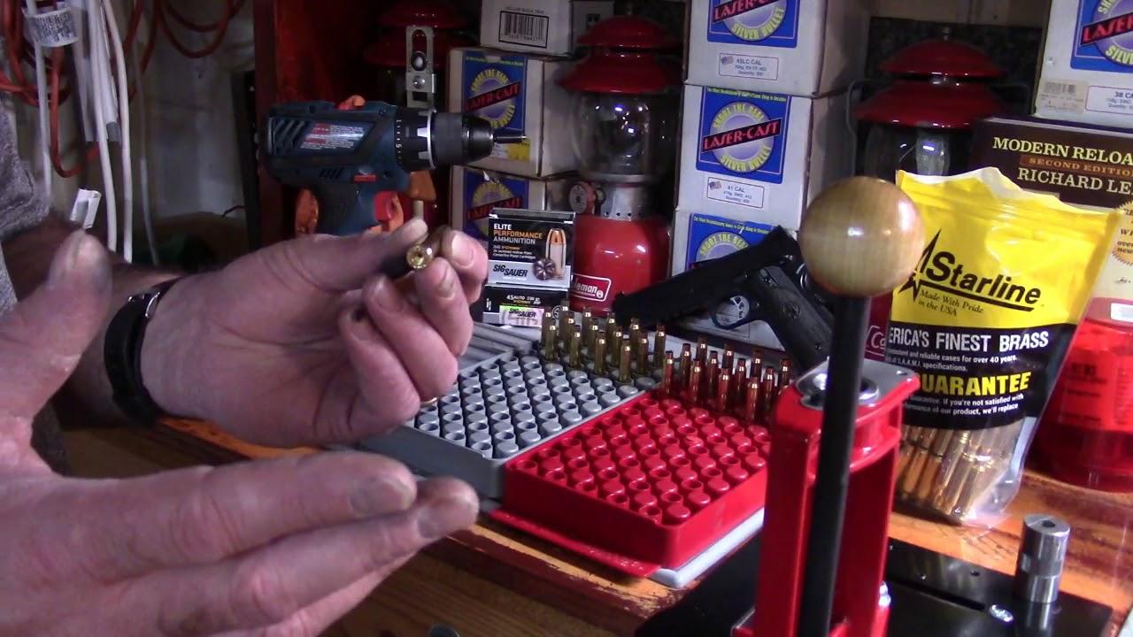 Lee Beginning Reloading, 223/5.56, Video 12, Primer Pocket Uniformer