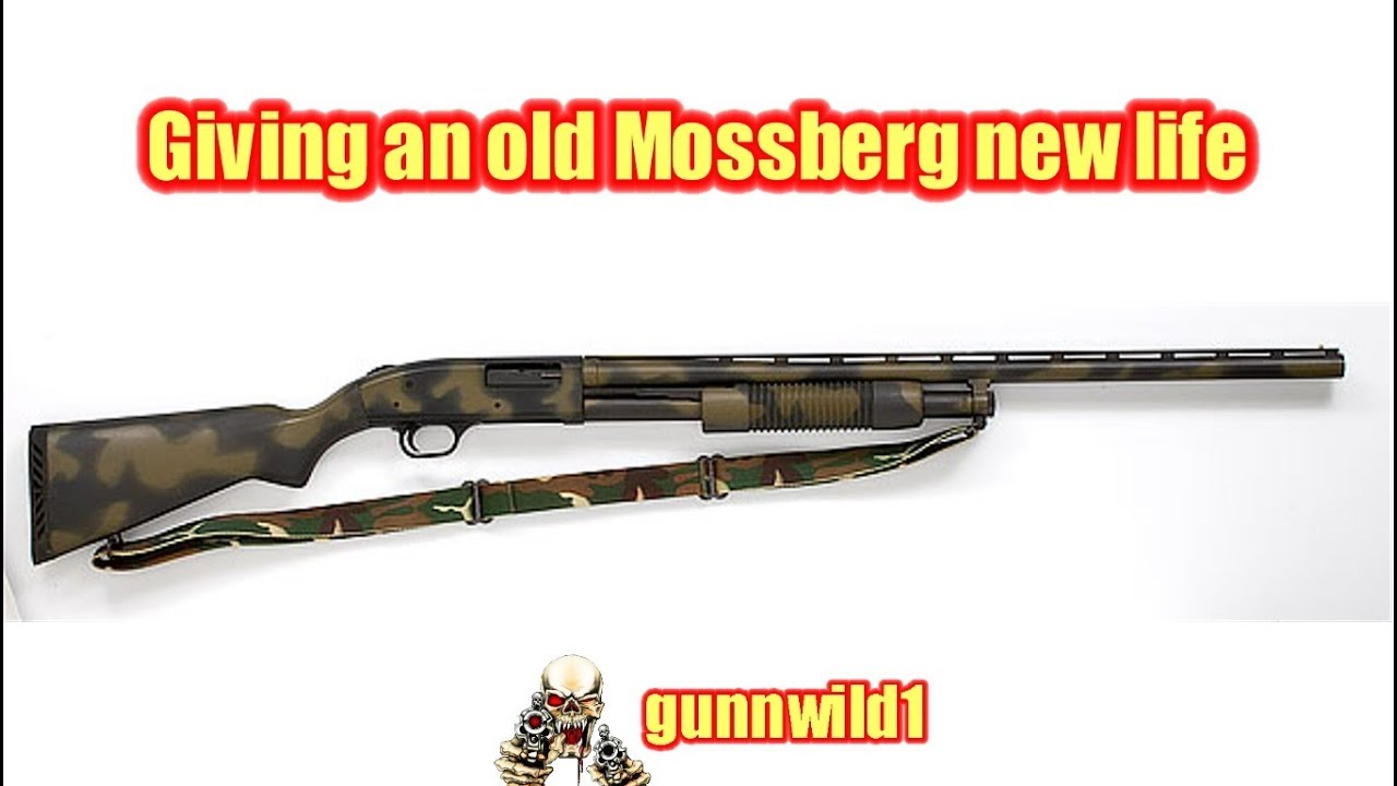 Giving an old Mossberg new life