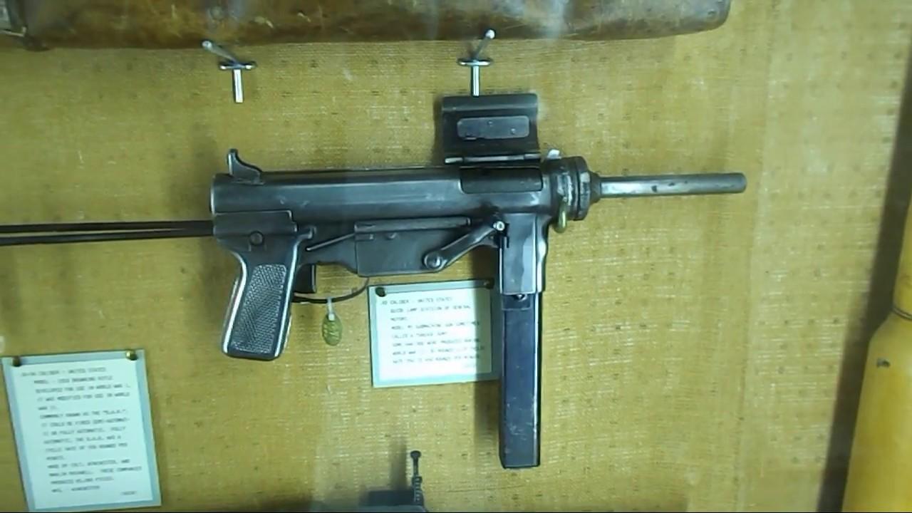 JM Davis War Wall Machine Guns
