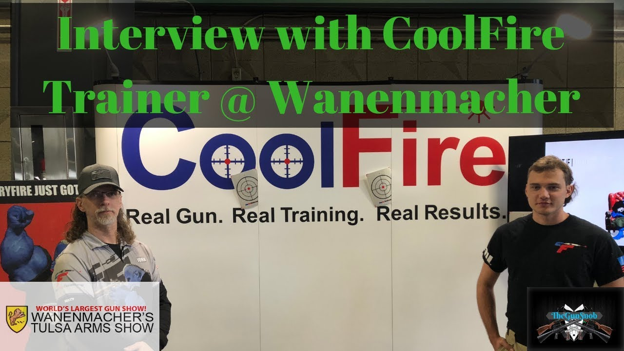 Another Gunstreamer gets it first video! My Interview with CoolFire Trainer @ Wanenmacher's Tulsa