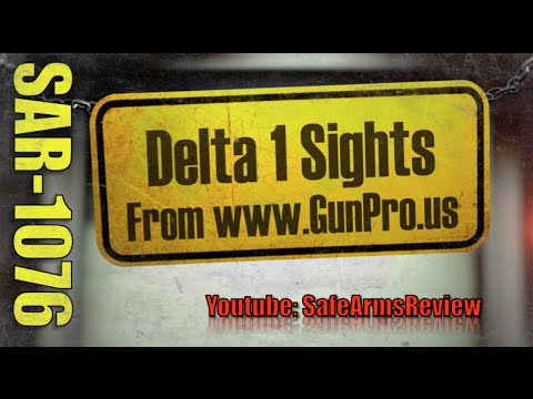 Delta 1 Sights - Unboxing & Tabletop Review - http://www.gunpro.us/delta1sights.html