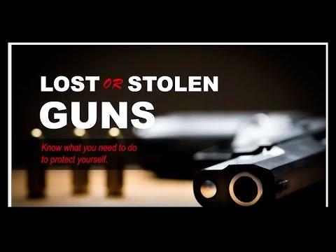 Lost or Stolen Gun In Pennsylvania
