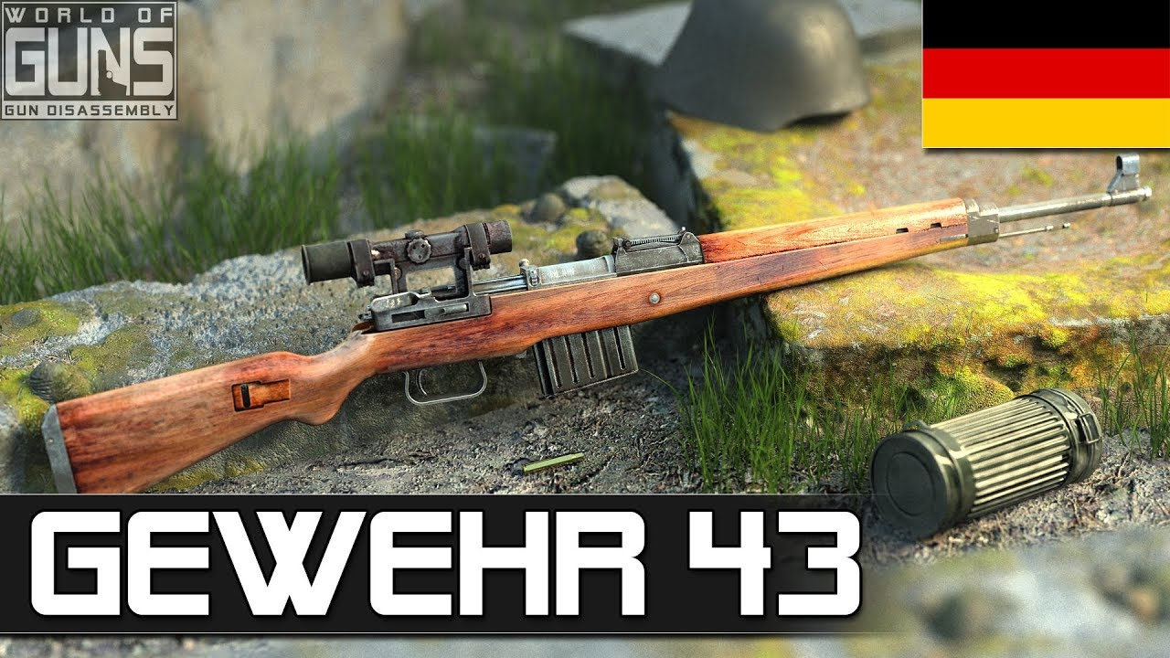 How does Gewehr rifle 43 work?