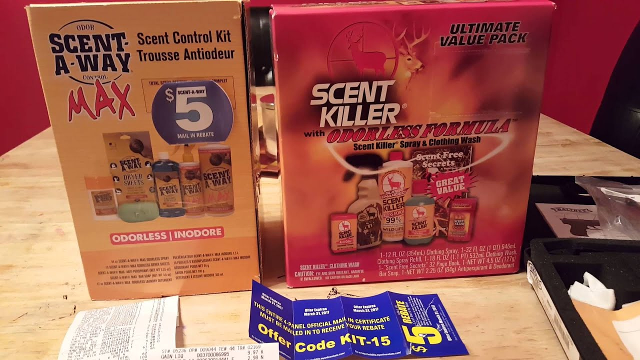 Scent killer kit for FREE...AND some Hella cheep P22 mags!