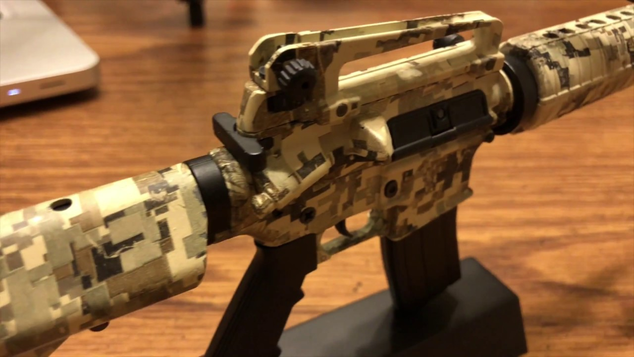 Goatguns |100% real diecast rifle model kits