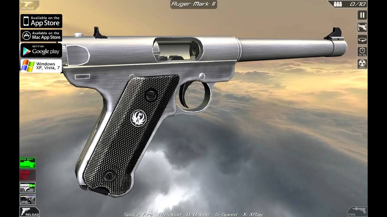 Ruger Mark II (full disassembly and operation)
