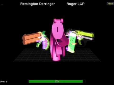 Remington Derringer vs Ruger LCP