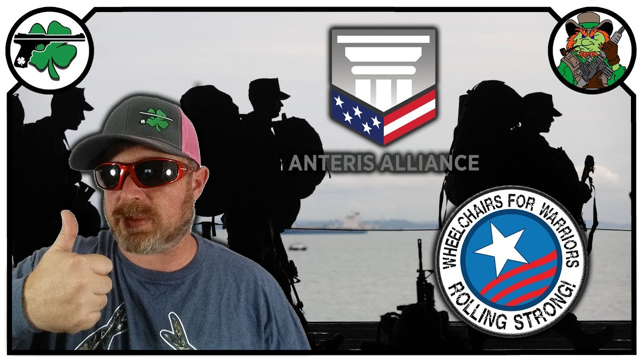 Helping Veterans With Anteris Alliance & Wheelchairs For Warriors - Firearm Friday