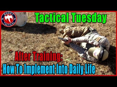 Implement Training In Everyday Life, Tactical Response & Venture Gear GAW: #TacticalTuesday ep 69
