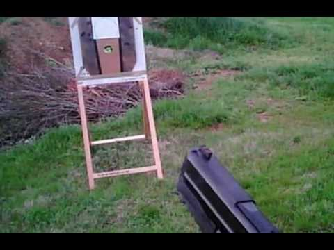 Draw and fire 1 shot, reload, fire 1 shot @ 3yds