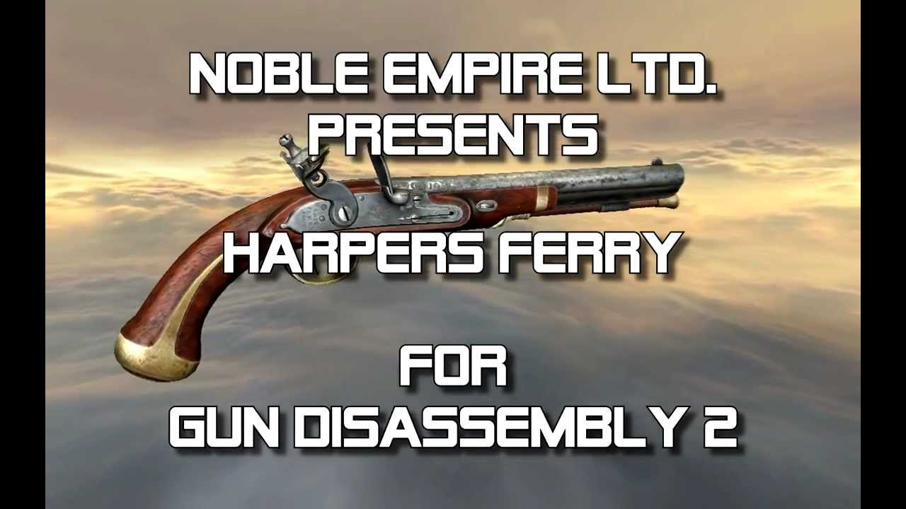 Harper's Ferry flintlock pistol (full disassembly and operation)