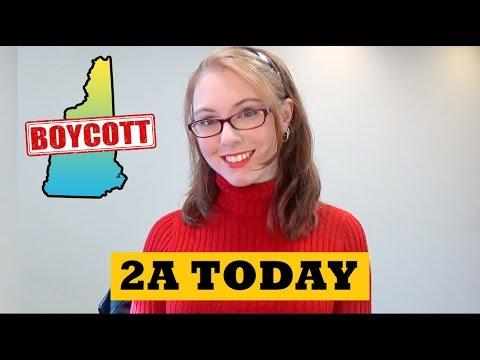 Bolt Action Glock, Anti-Gun Liberals Threaten NH Boycott   2A Today