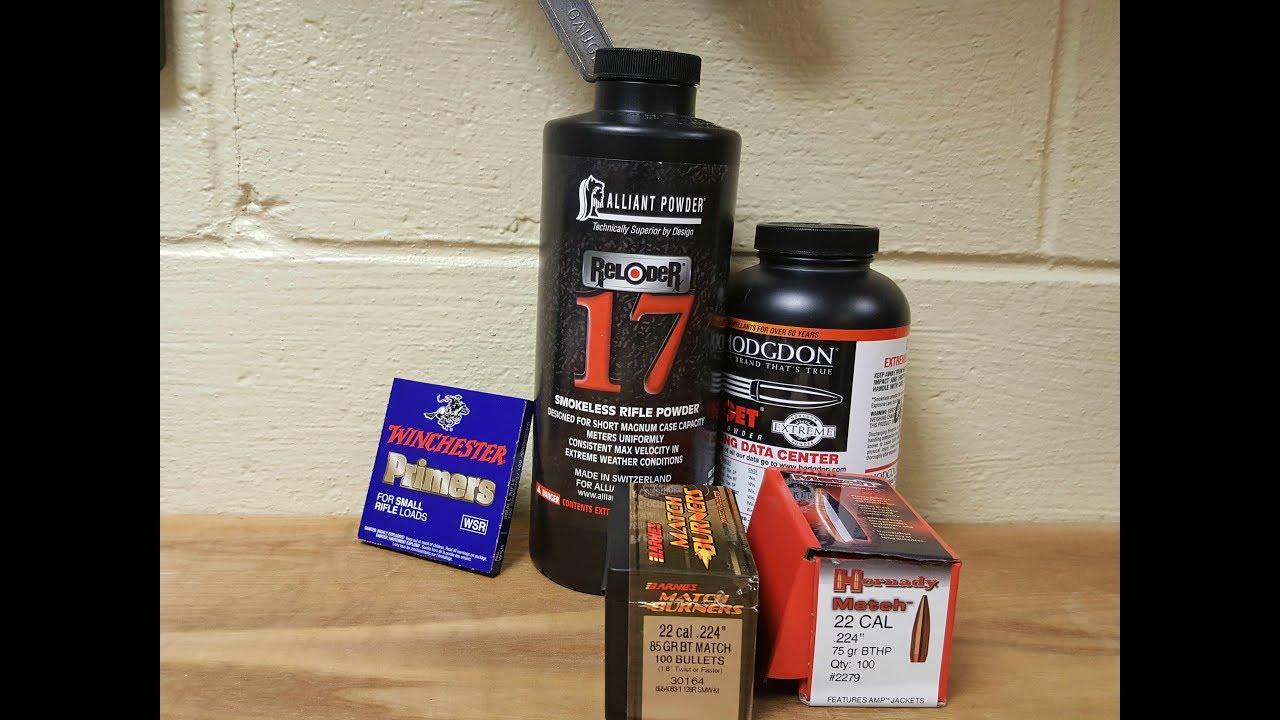 224 Valkyrie and Hornady 80 Grain ELD Match loads