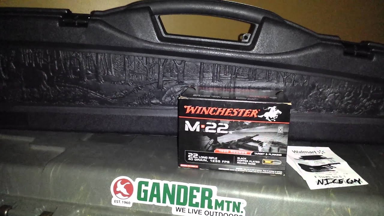 Why 22LR has been at Walmart this week!