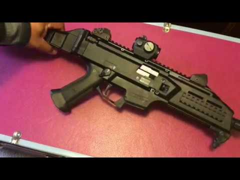 CZ Scorpion EVO Pistol
