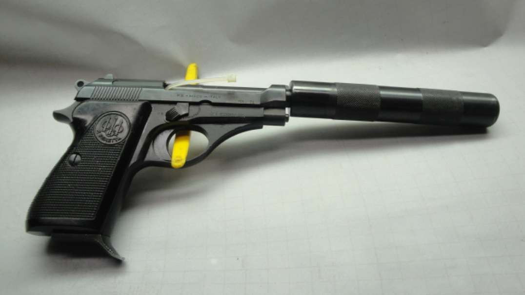 Beretta Model 71   Removing the Fake Suppressor