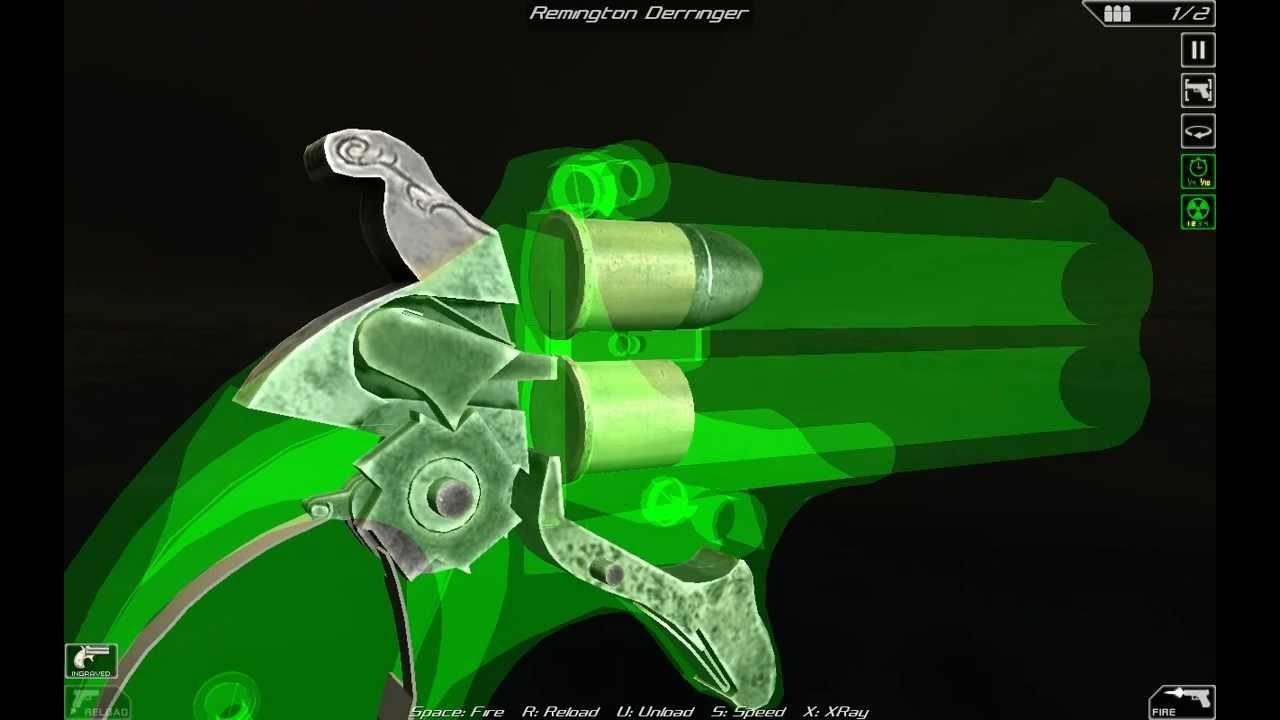 Remington Double Derringer (full disassembly and operation)
