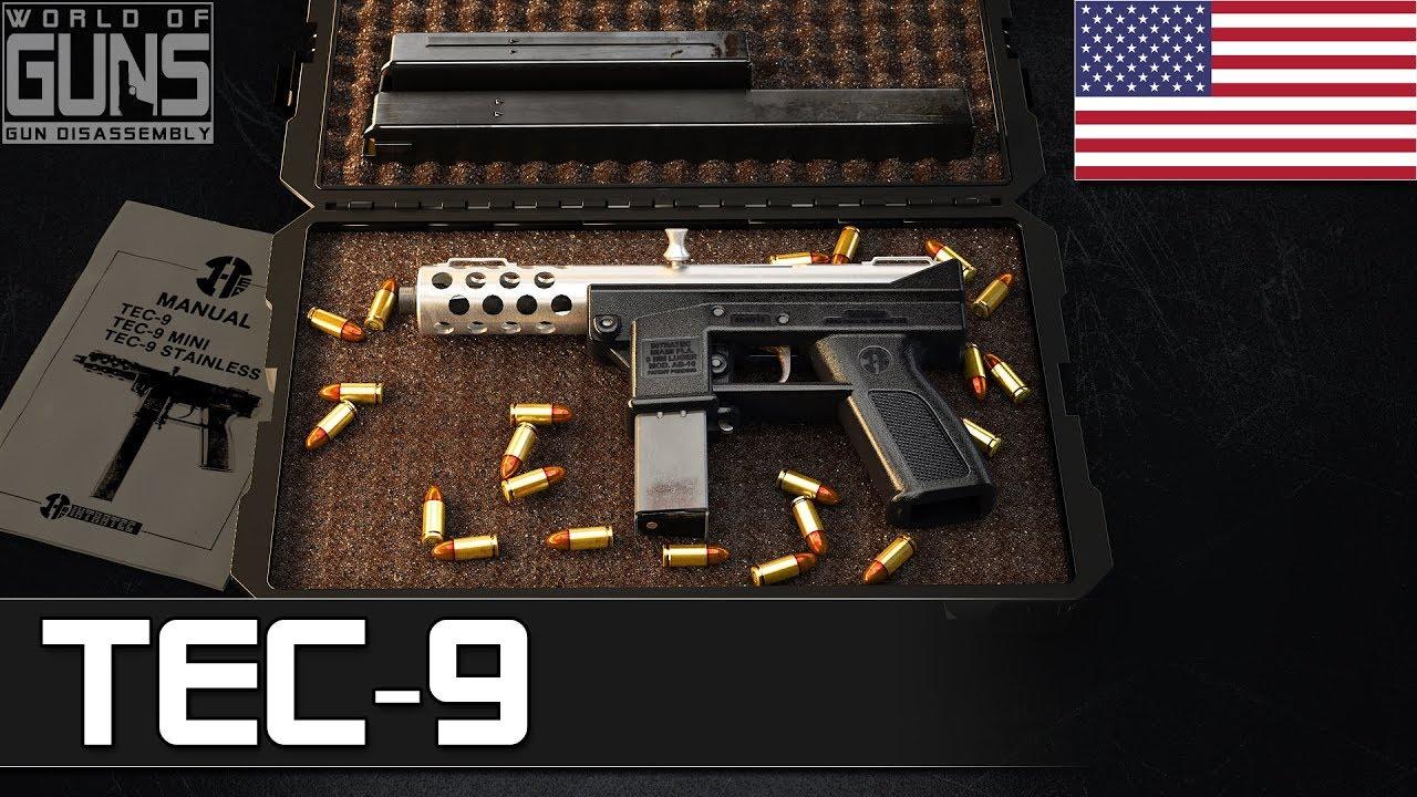 How TEC-9 semi-automatic pistol operates?