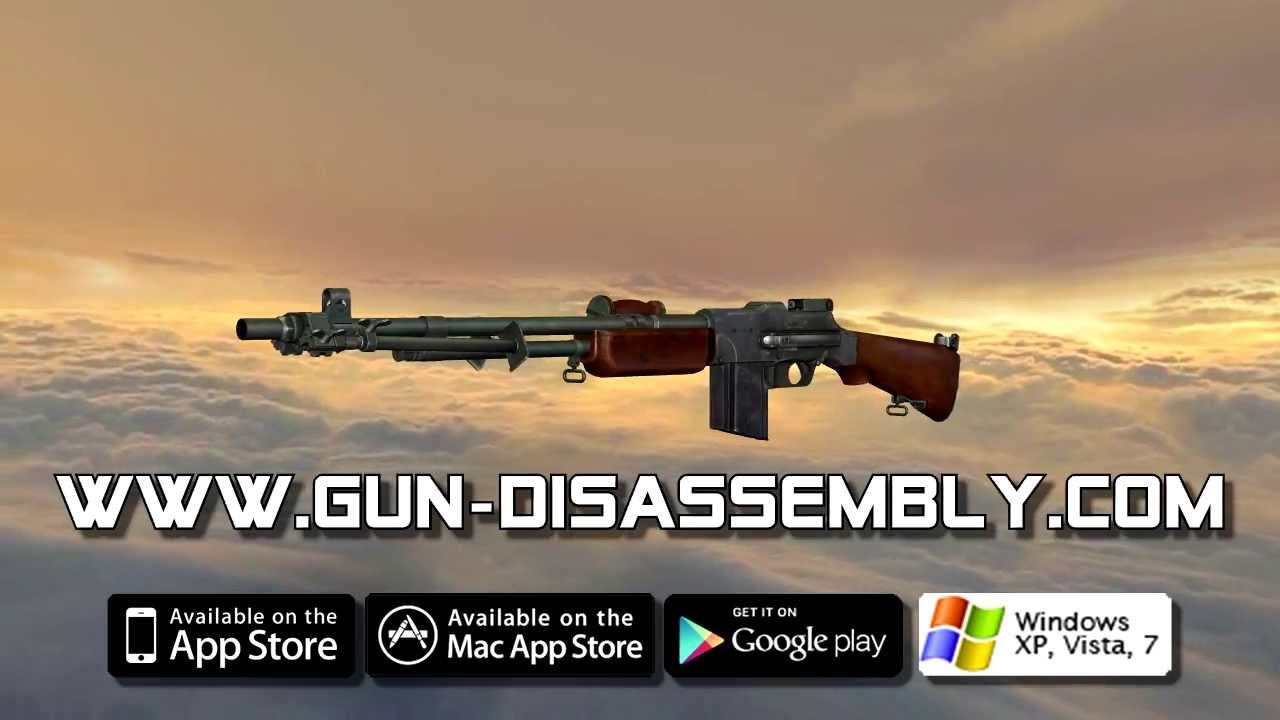 Browning Automatic Rifle (full disassembly and operation)